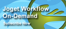 A subscription based service that offers Joget Workflow Enterprise on the Cloud.