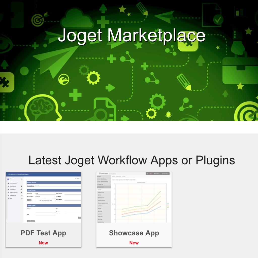 Joget – Open Source Low-Code Application Platform, Business